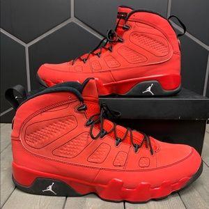 Air Jordan 3 Motorboat Jones Red Shoes Size 14